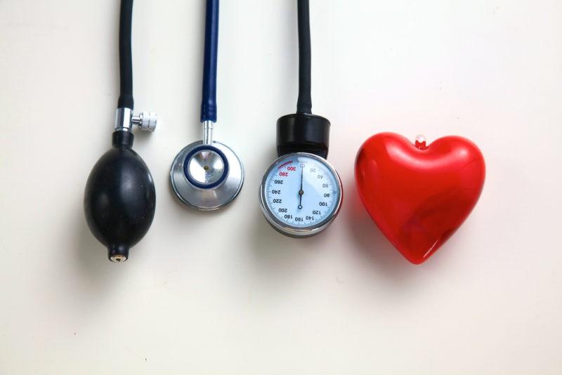 nėra didelė hipertenzija