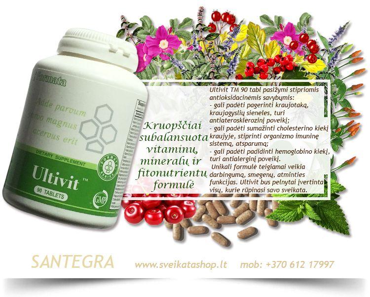 Vitaminai širdžiai ir kraujotakai | Gintarinė