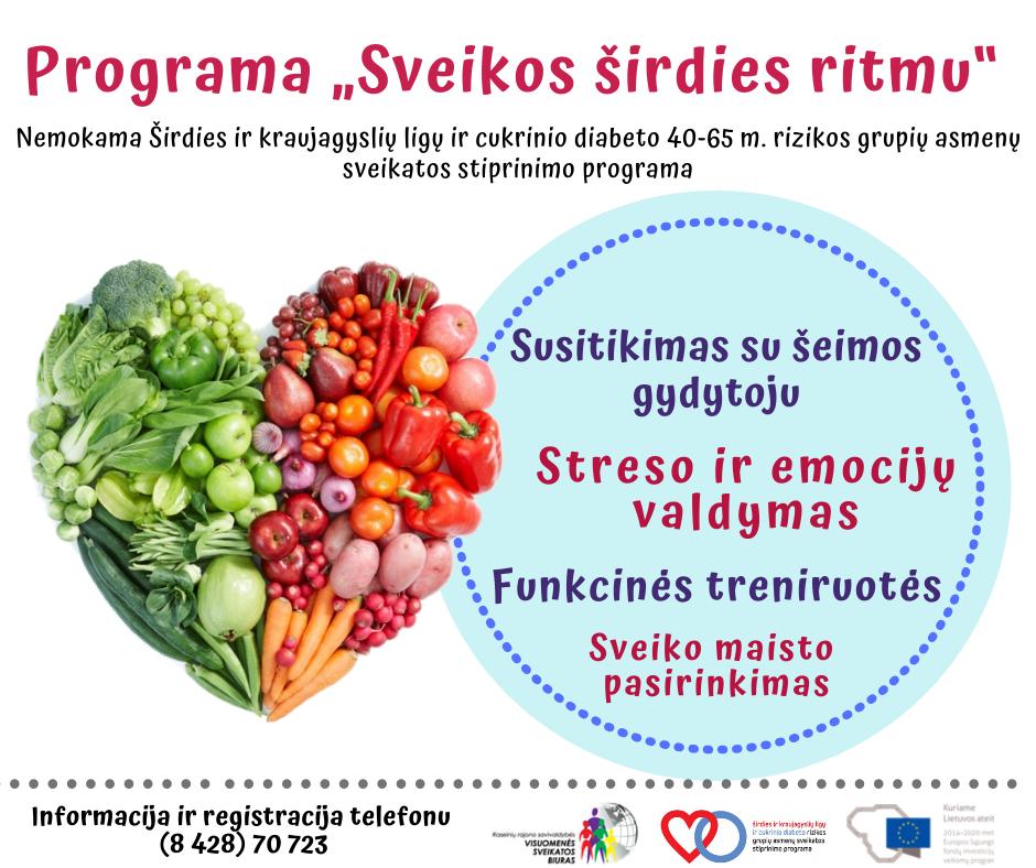 sveikas maistas jūsų širdžiai)
