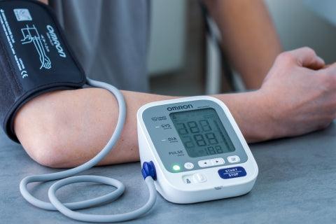 PSO duomenimis, hipertenzija