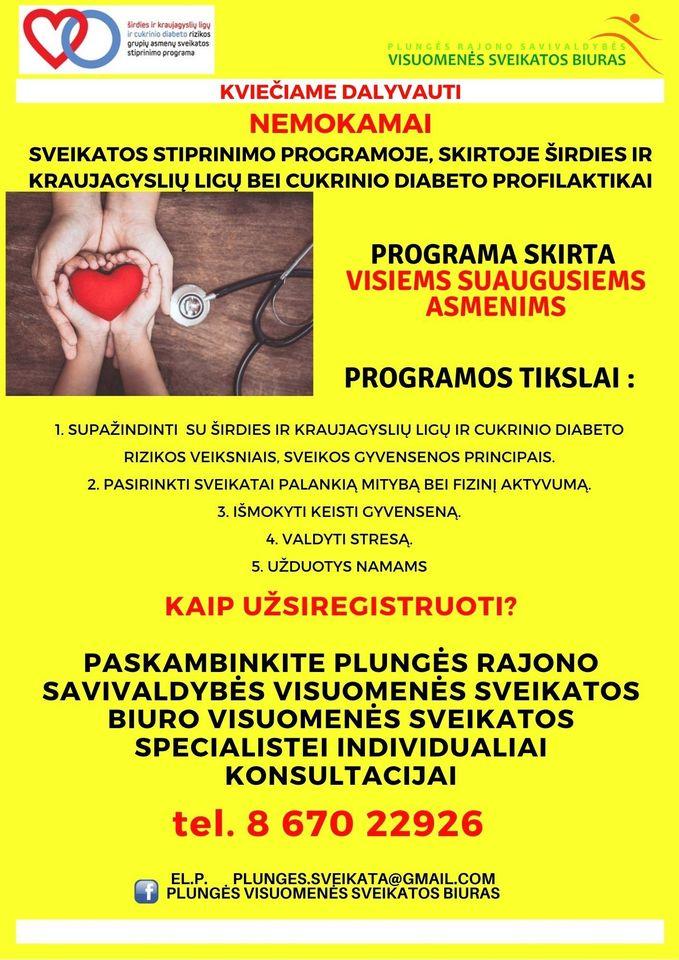 nemokama širdies sveikata)