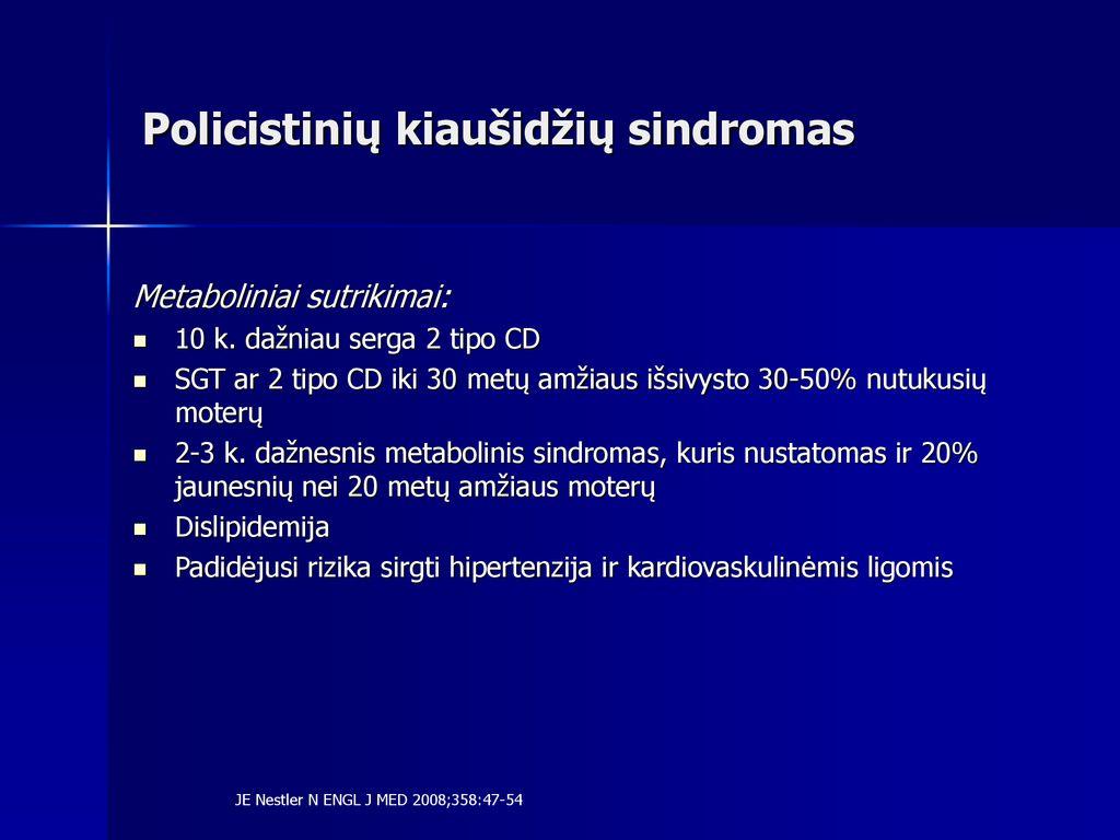 hipertenzija pašalinus kiaušidę)