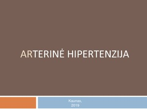 kokios yra hipertenzijos pasekmės karinės kortos hipertenzija