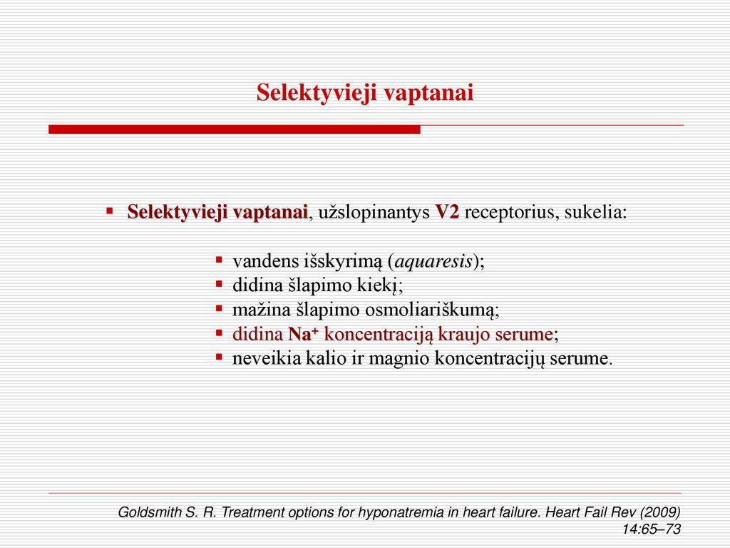 intraveninis magnis sergant hipertenzija