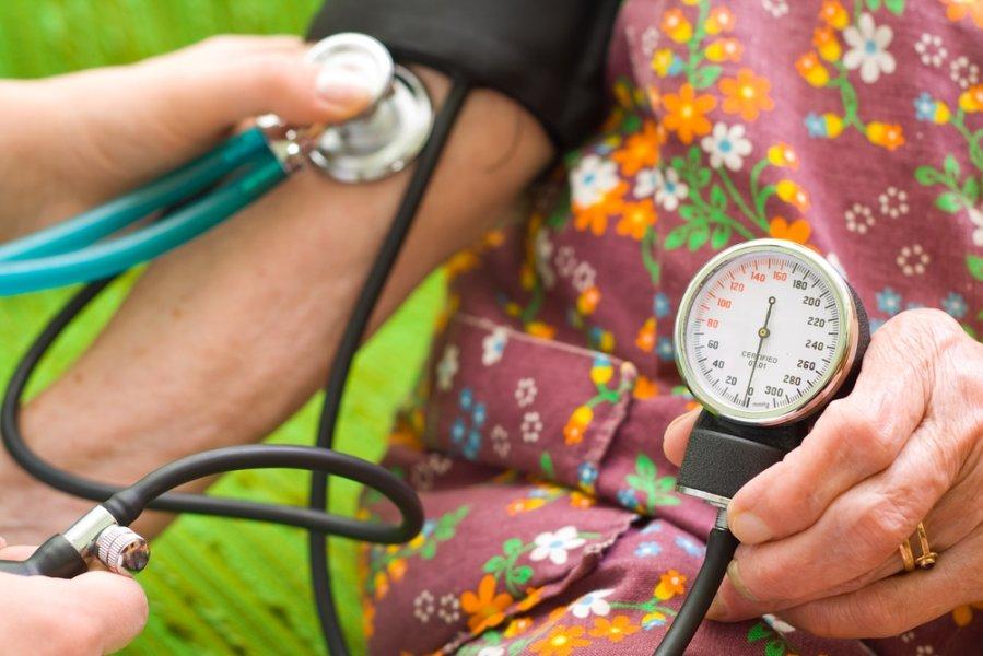 sergant hipertenzija, kojos gali nutirpti