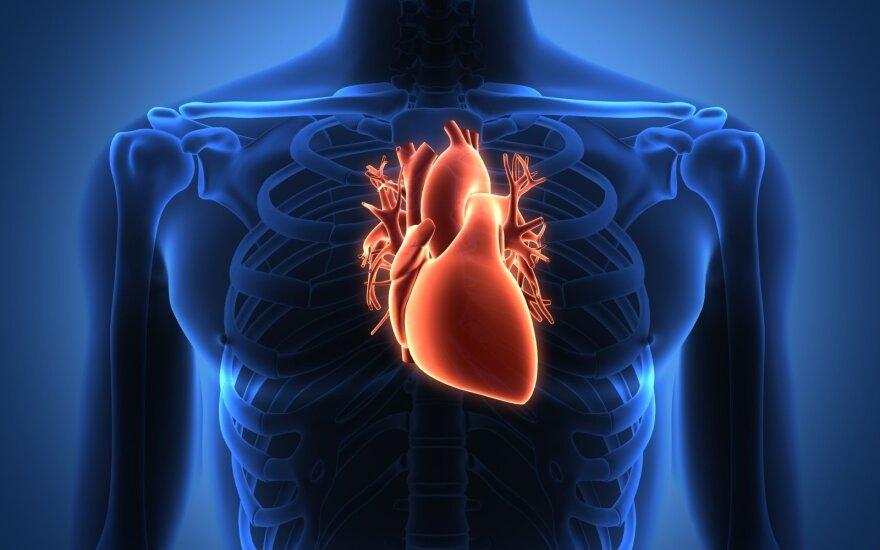 pagerinti širdies sveikatos mitybą)
