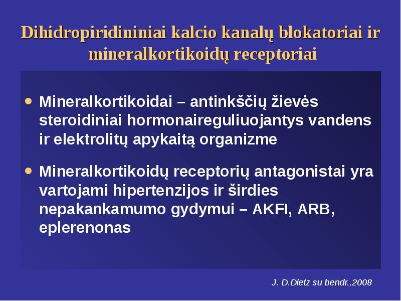 inhibitoriai ir blokatoriai gydant hipertenziją