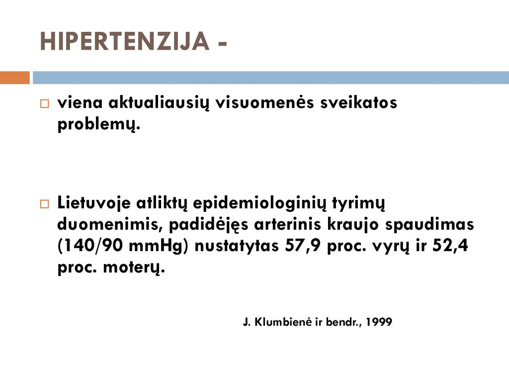 nevalgius hipertenzija