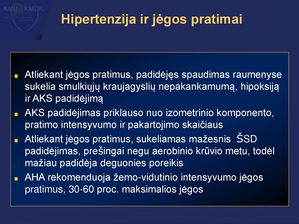 hipoksija ir hipertenzija