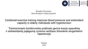 vyresnio amžiaus žmonių hipertenzijos liga