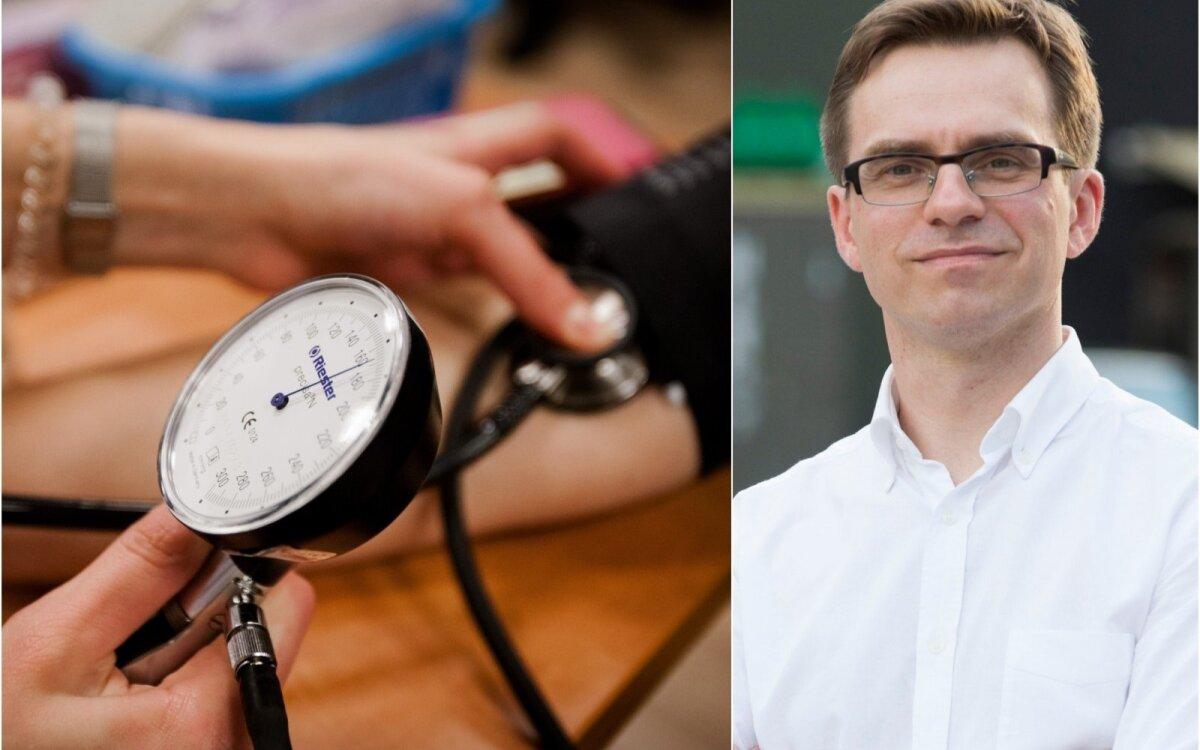 Holteris sukelia hipertenziją