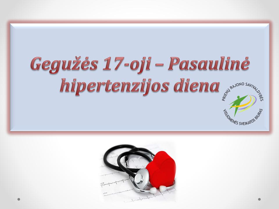 medicina ir sveikatos hipertenzija hipertenzija 1 laipsnio 3 stadija