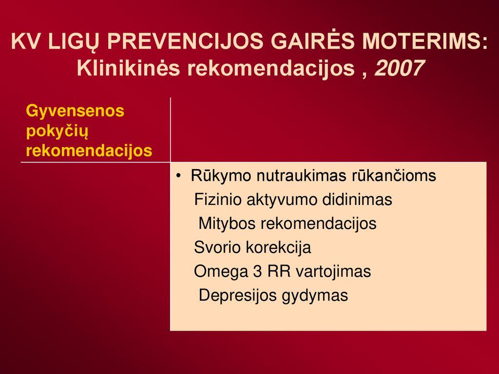 omega 3 hipertenzijos gydymas