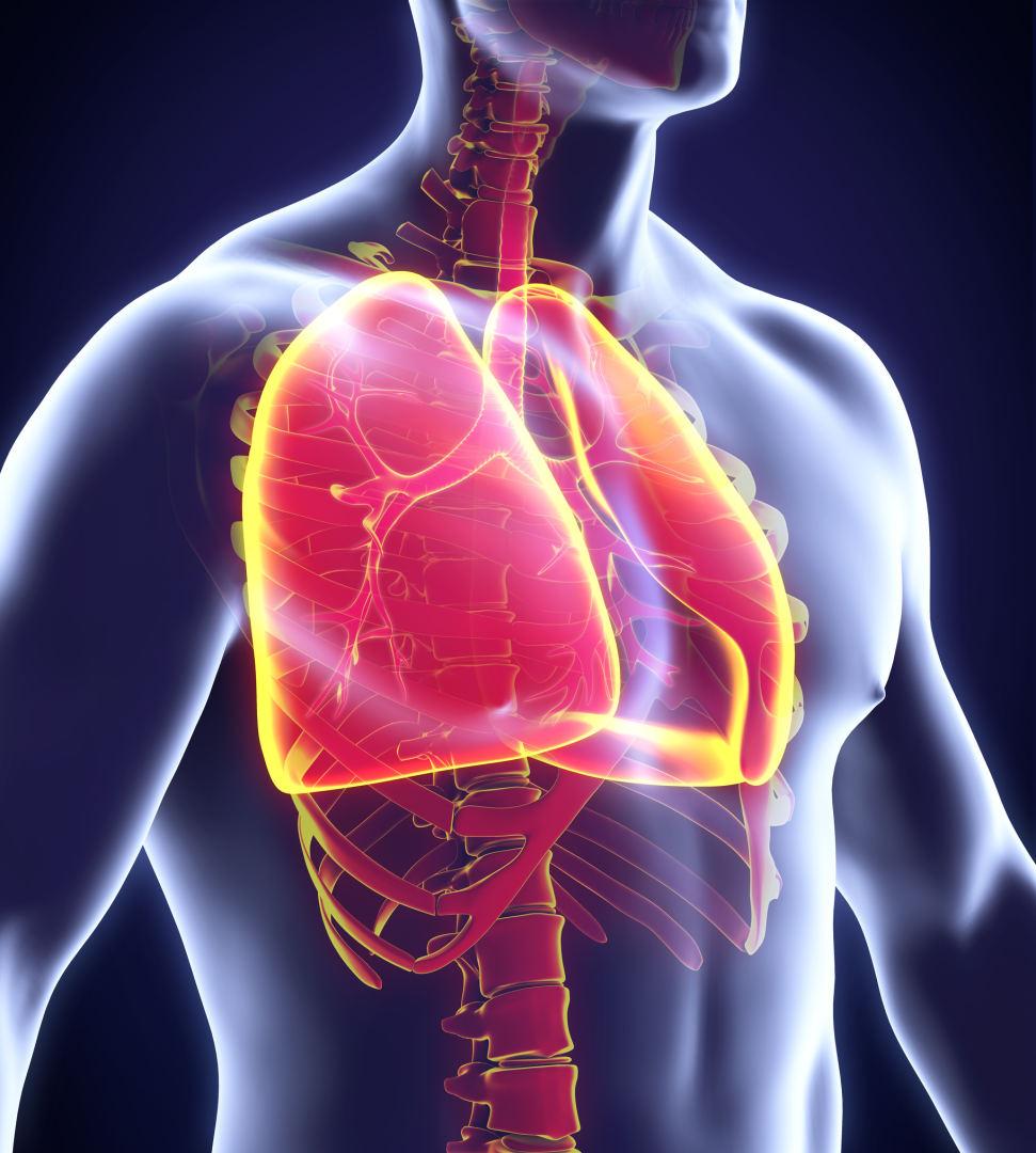 emfizema plaučių hipertenzija