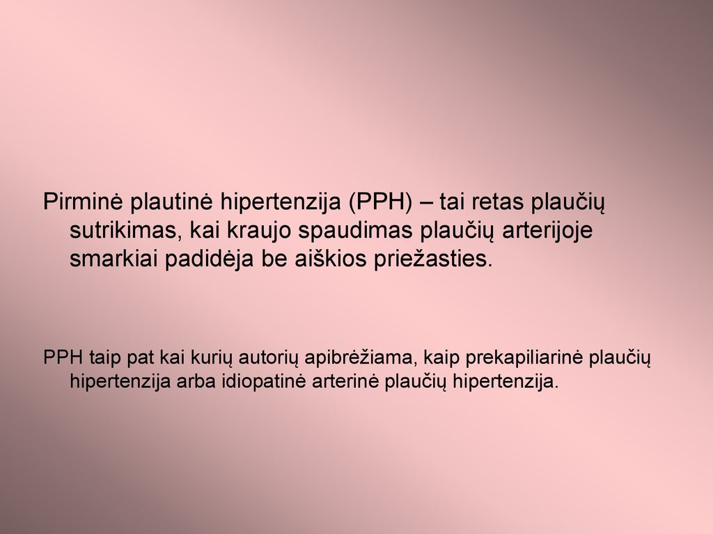 versti hipertenzija)
