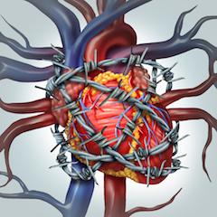 širdies hipertenzija yra)