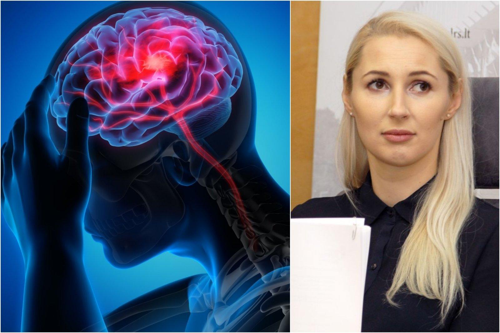 galvos skausmas hipertenzija