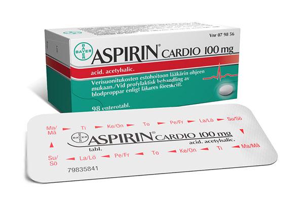 kokia yra aspirino širdies sveikatos dozė