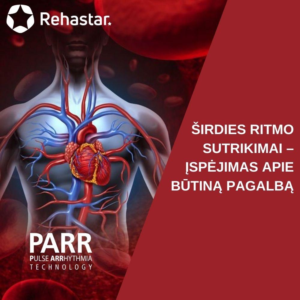 sveikatos širdies ritmo kraujospūdis)
