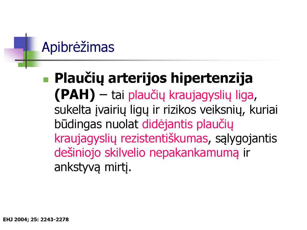 sildenafilis ir hipertenzija
