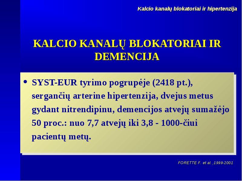 hipertenzija gydoma per tris savaites)