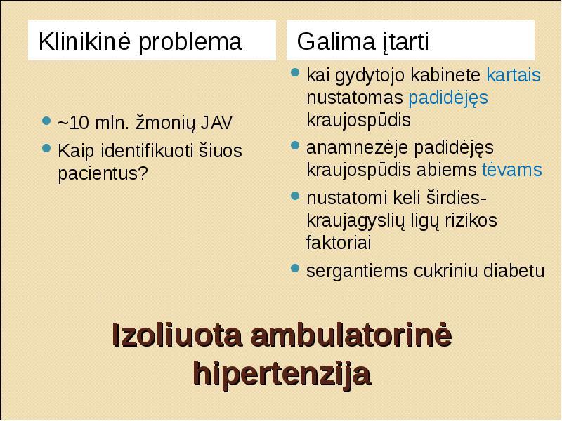 policistinė inkstų hipertenzija)