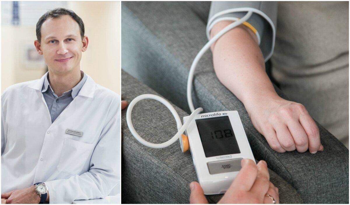 hipertenziją gydo per mėnesį
