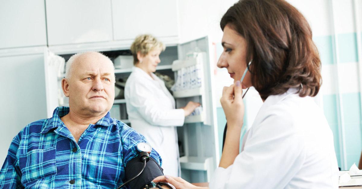 kiek gali išsivystyti hipertenzija