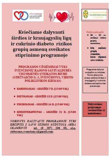 NEMOKAMAI – ligoninėje pasitikrink dėl širdies ir kraujagyslių ligų