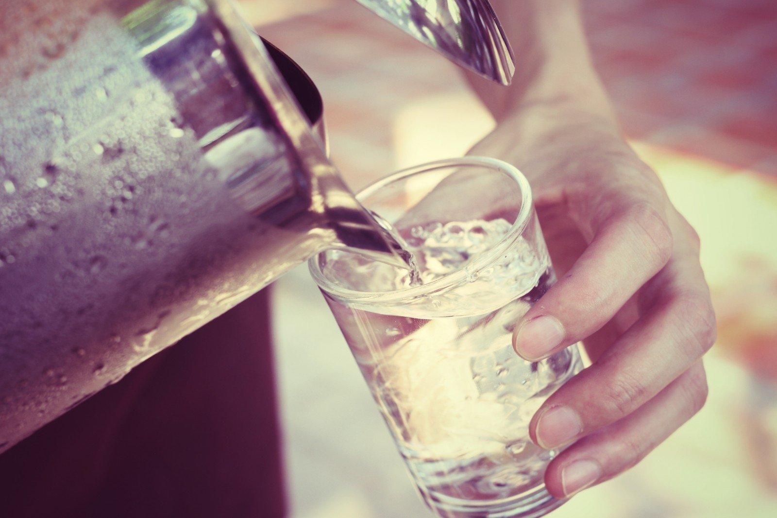 ar gerti vandenį su hipertenzija