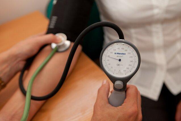 hipertenzija žmogaus ligos)