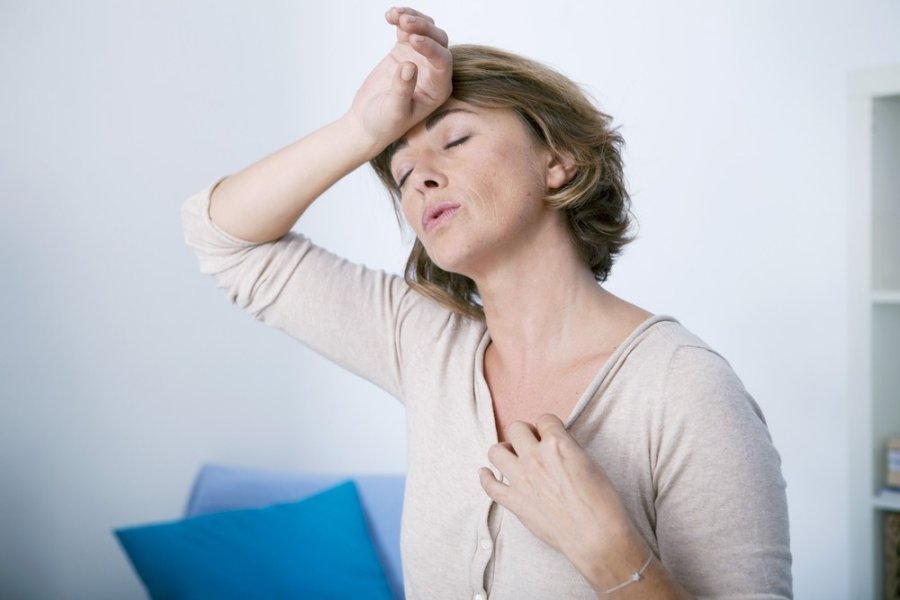 menopauzė su hipertenzija