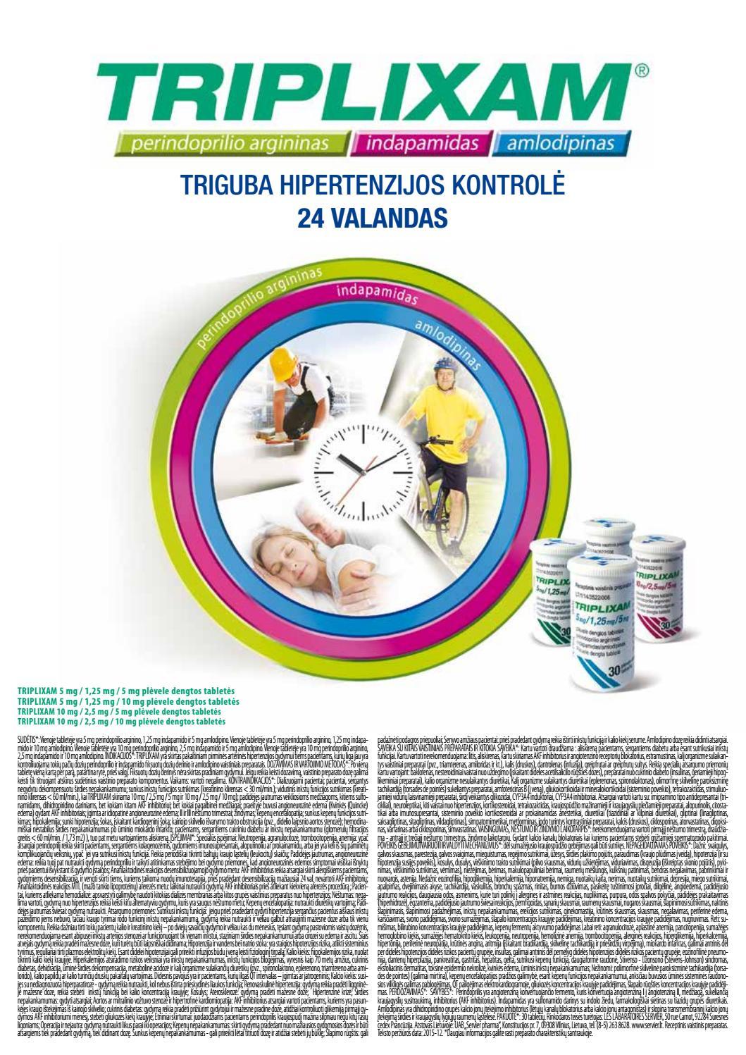 vaistai nuo hipertenzijos amlodipinas)