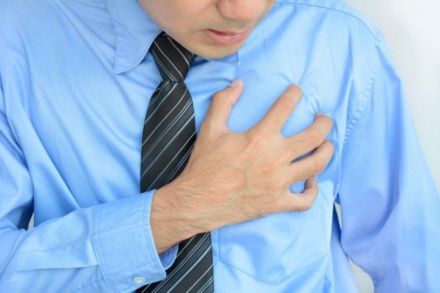 sveikatos problemos po infarkto)
