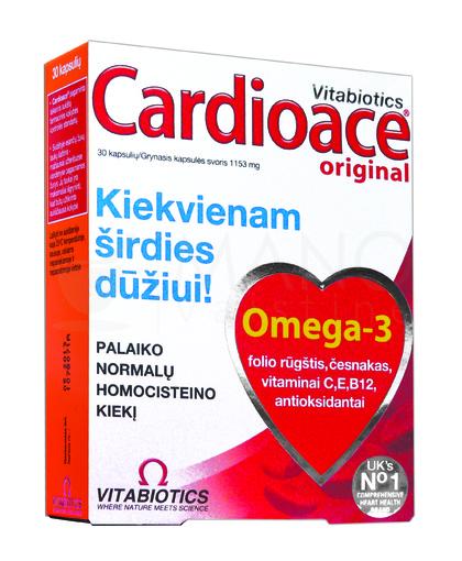 širdies sveikatos vitaminai)