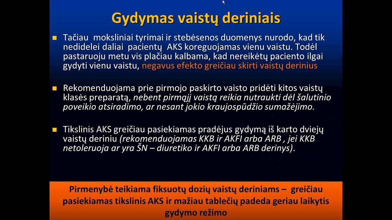 vaistai nuo hipertenzijos diuretikų)