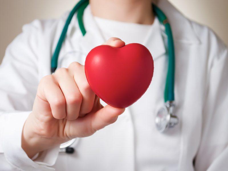 hipertenzija su širdies ydomis)