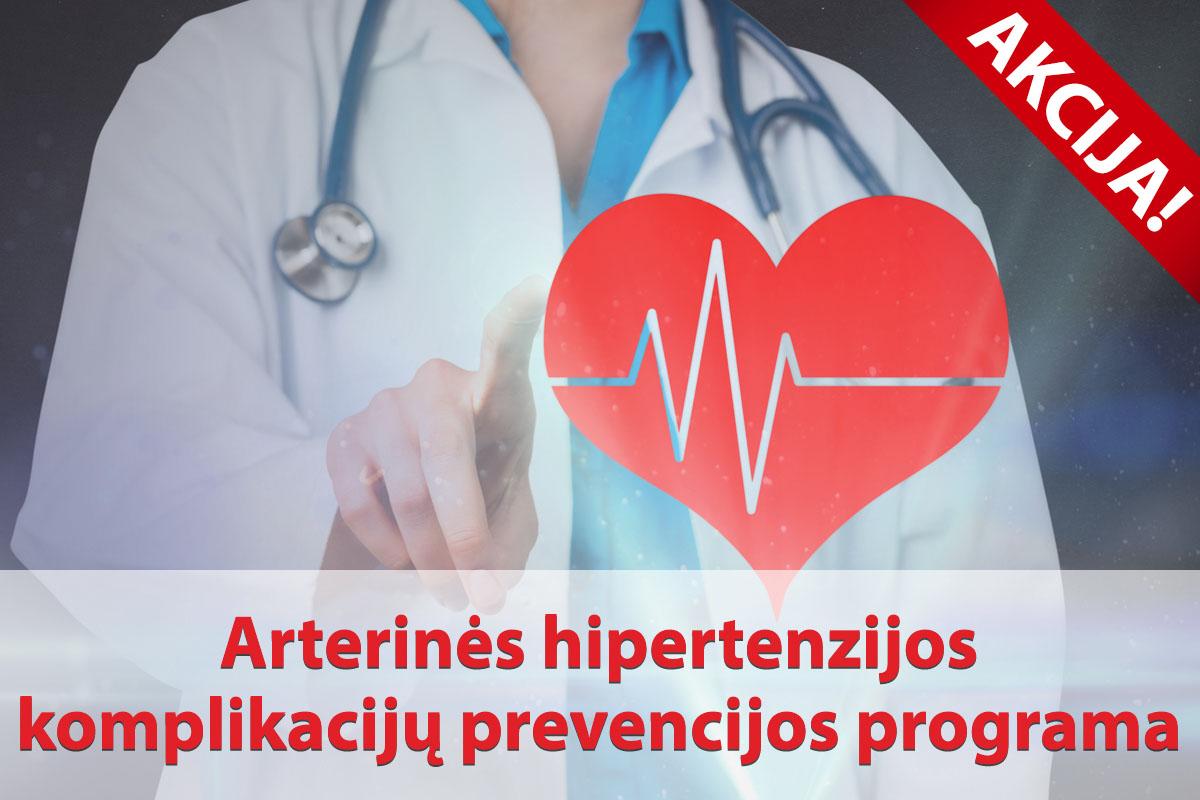 hipertenzijos tyrimams