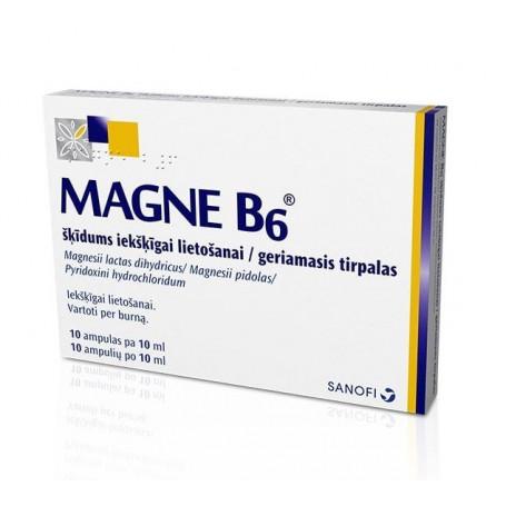 magnio b6 hipertenzijos apžvalgoms