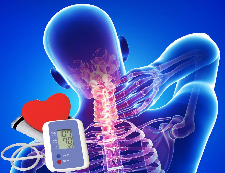 hipertenzija su gimdos kaklelio osteochondroze