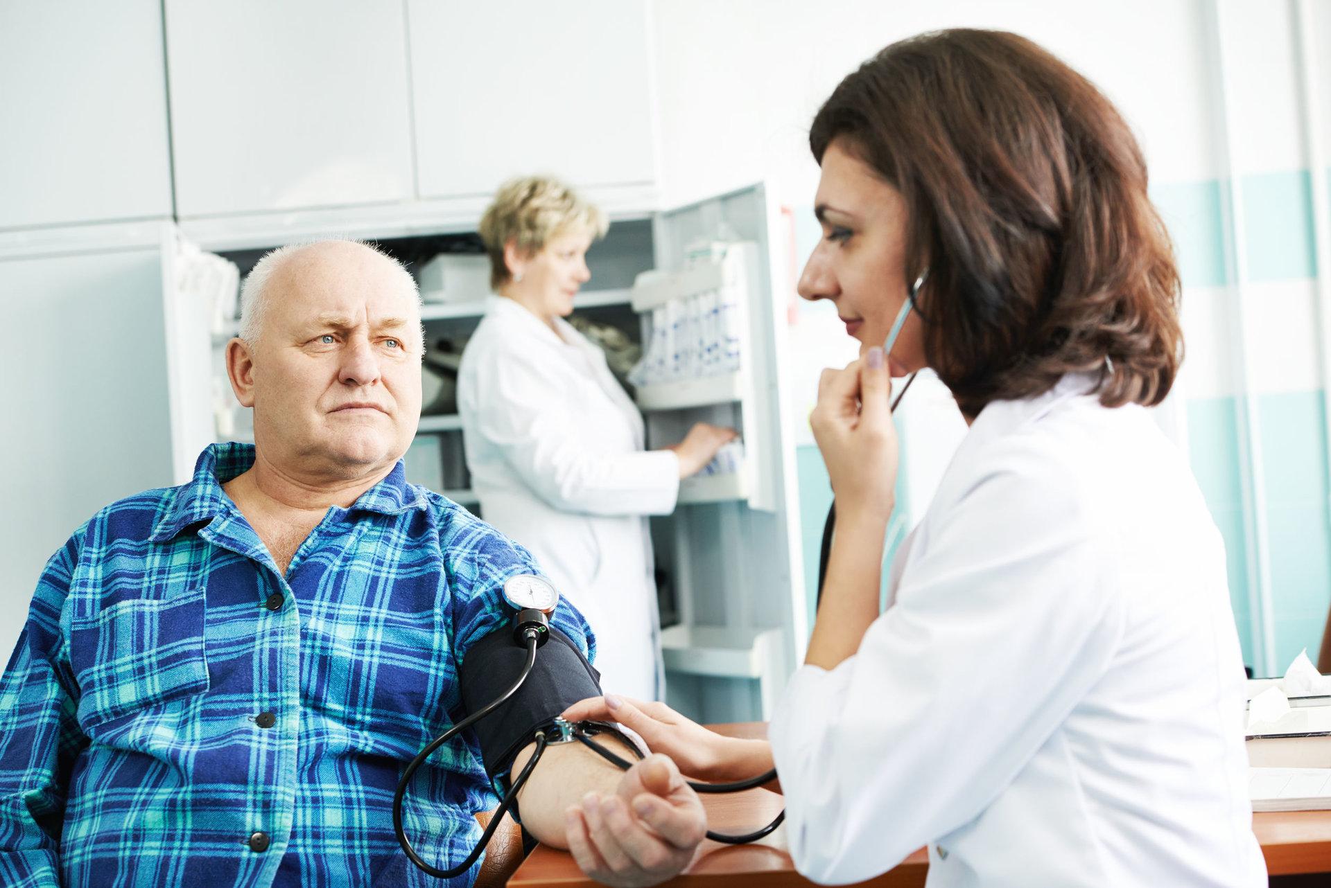 Šiaurietiško ėjimo hipertenzija apžvalgos