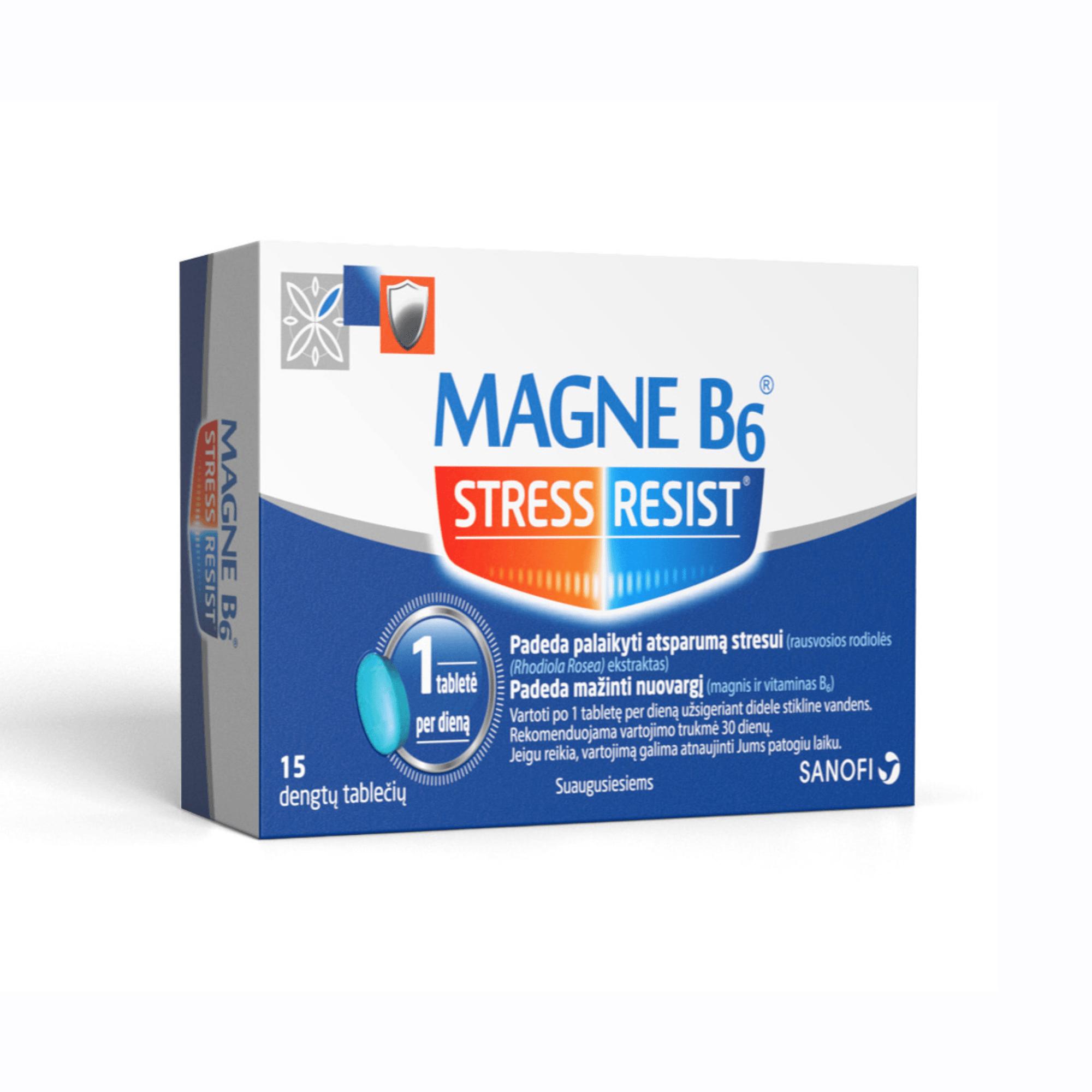 magne b6 nuo hipertenzijos