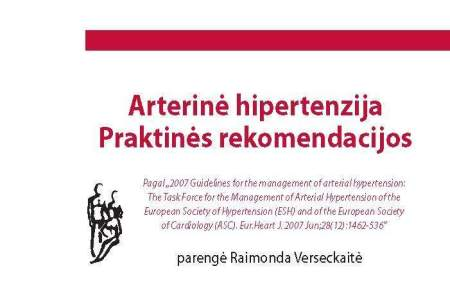 hipertenzijos knyga Nr
