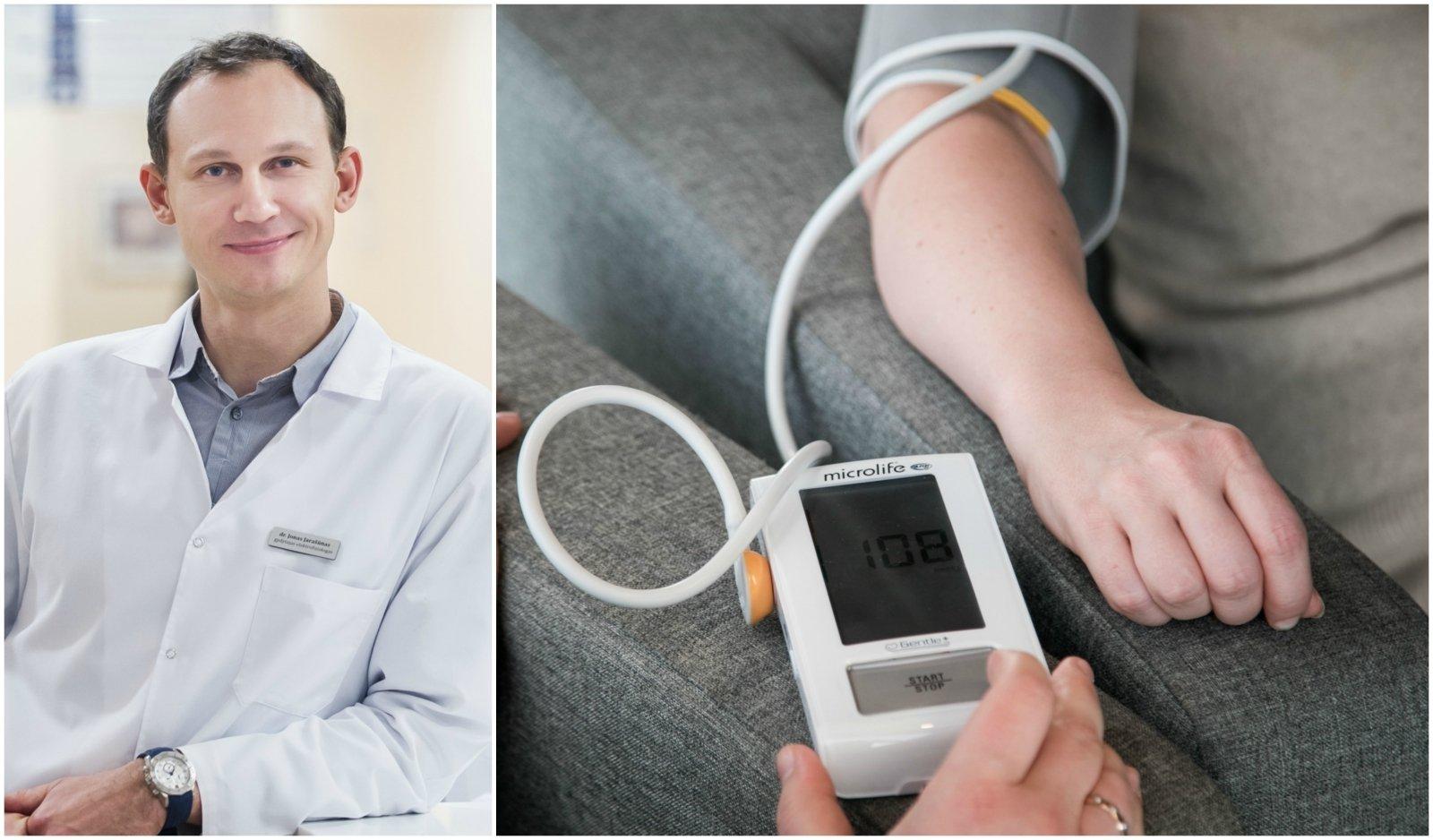 straipsnio hipertenzija nėra liga