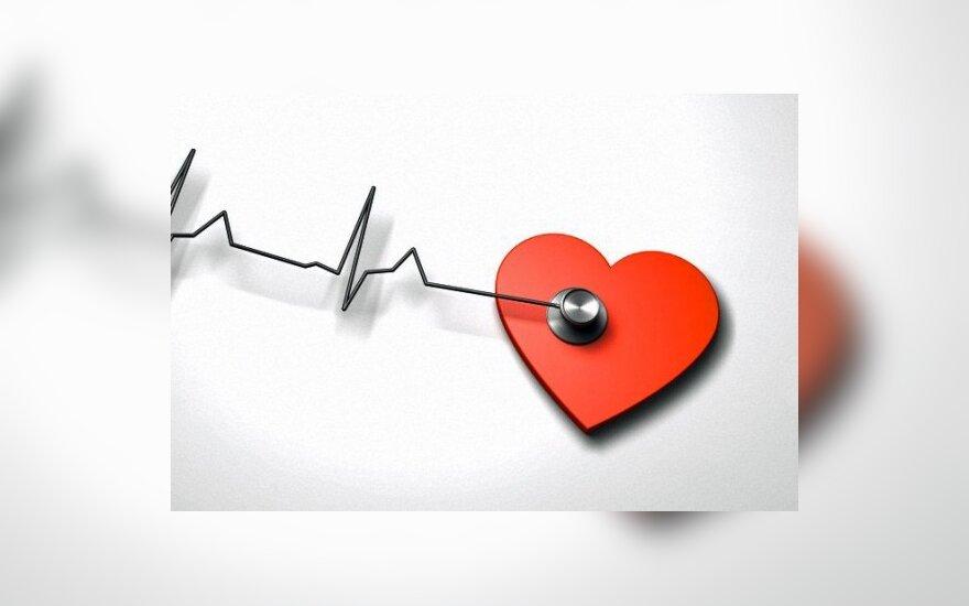 hipertenzijos rizikos veiksnių iliustracijos