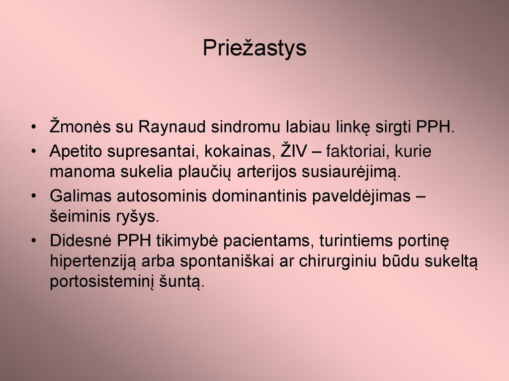 hipertenzija paveldėjimo tipas