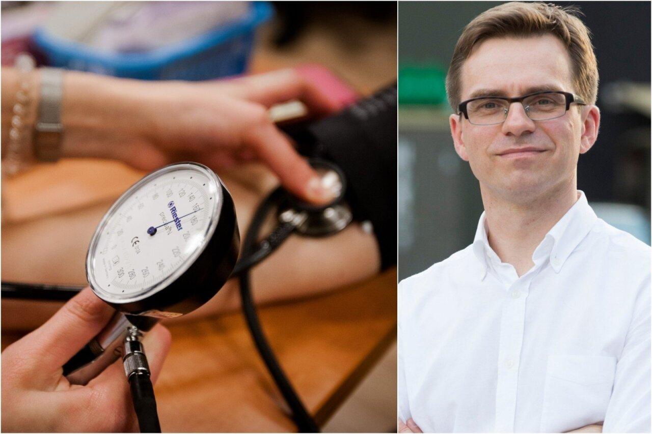 hipotenzijos pacientams, sergantiems hipotenzija