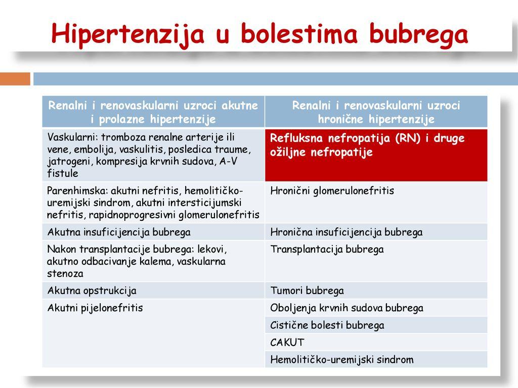 hipertenzija su nefropatija)