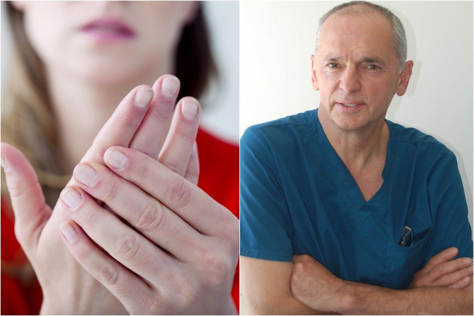 hipertenzija ir rankos nutirpsta)