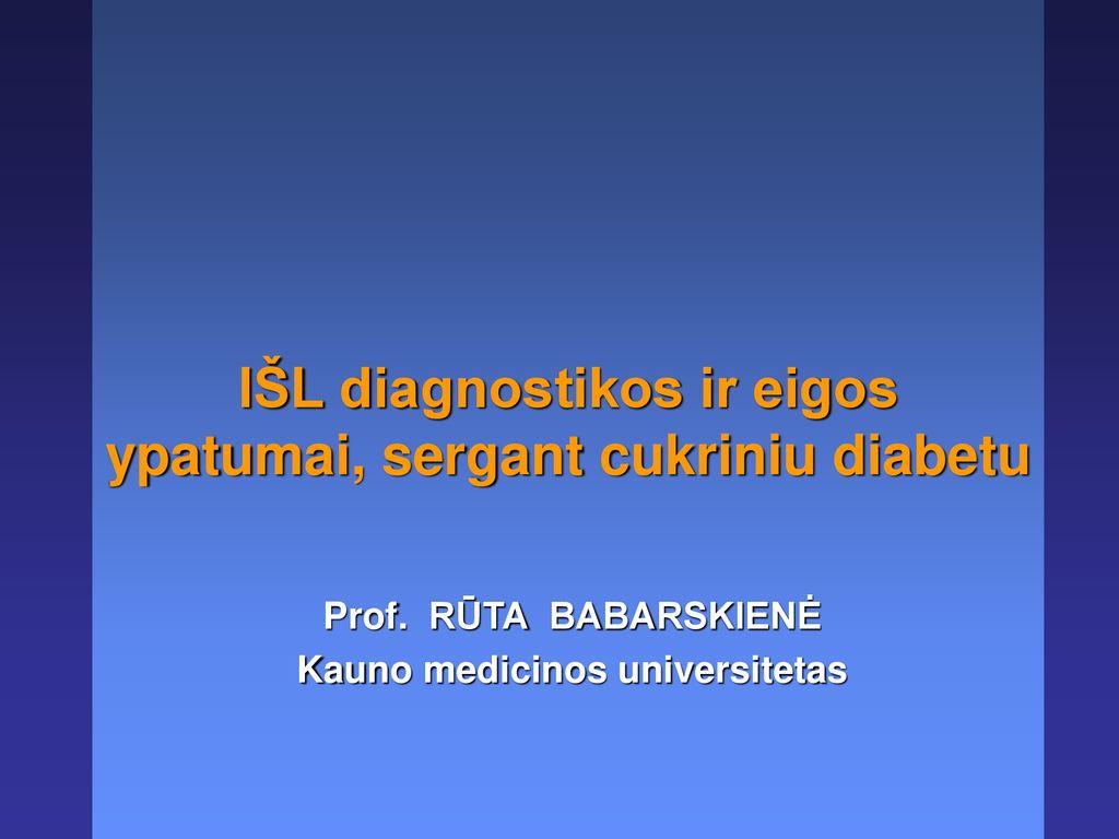 Arterinė hipertenzija ir cukrinis diabetas – vanagaite.lt